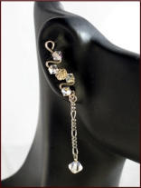 Up The Ear Earring with matching dangle | Click to enlarge